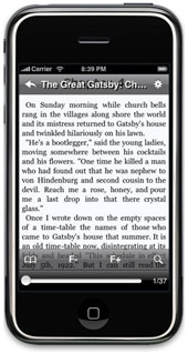 iPhone eBook Reader App - Stanza
