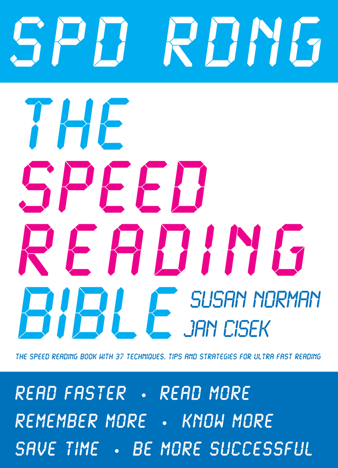 Spd Rdng The Speed Reading Bible 3.0 - Book Cover