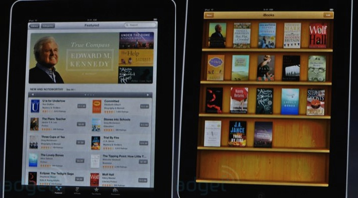 iBooks Store on iPod - speed reading ebooks on the go
