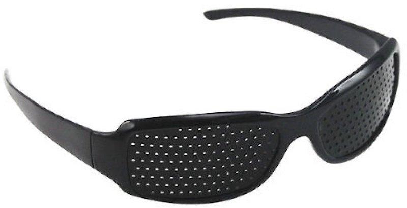 Pinhole glasses for eye training