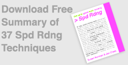 Free summary of The Speed Reading Bible