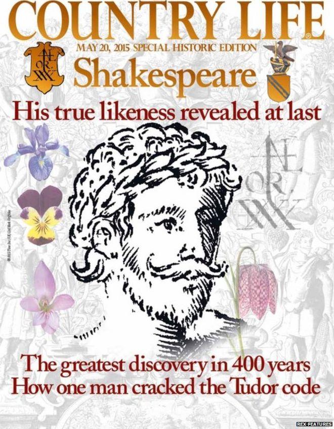 True face of William Shakespeare