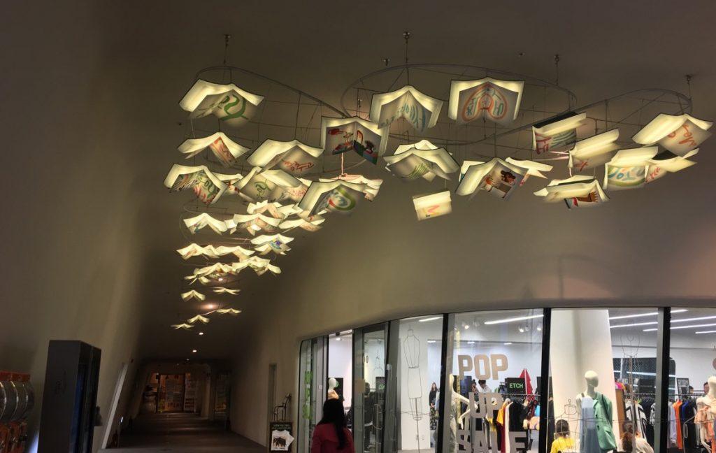 Zaha Hadid - books lamps Seoul 2