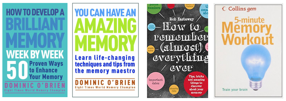Top books on memory improvement