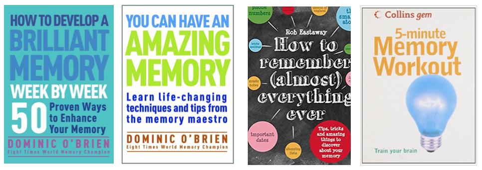 Top books on memory improvement