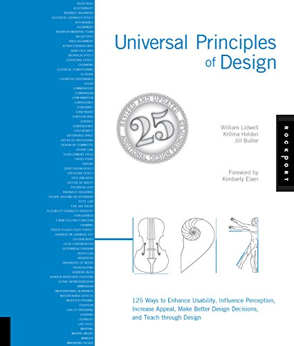 Universal Principles of Design, Revised and Updated- 125 Ways to Enhance Usability, Influence Perception, Increase Appeal, Make Better Design Decisions, and Teach through Design