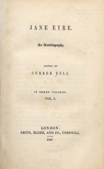Summary of Jane Eyreby Charlotte Bronte