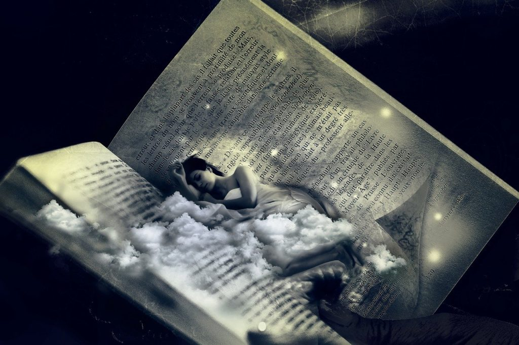 download books:texts and sleep on them